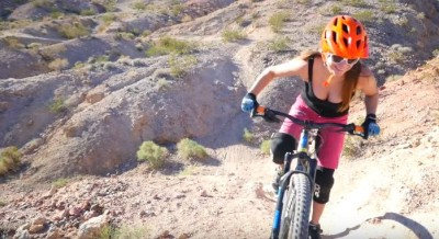 Claudia Clemente - Mountain Bike en  Bootleg Canyon