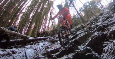 TREK RACING DH VS BESTIA DEL ESTE - MTB