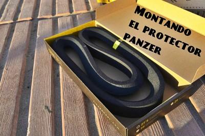 MTB - Montando el protector de ruedas Panzer