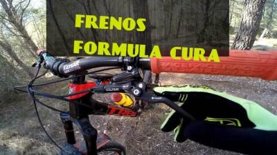 Unboxing MTB: Primer día con los frenos Formula Cura - Enduro