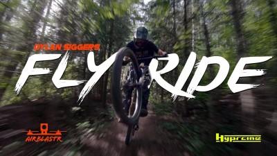 Flyride - 100% vídeo mtb grabado solo con drones