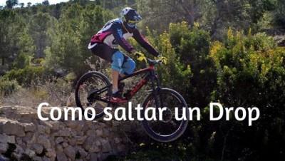 Técnica MTB : Como saltar un Cortado/ Drop con tu mountain bike