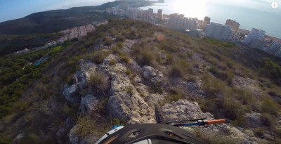 Trail de  Enduro MTB en Cullera (Valencia)