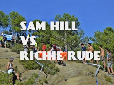 EWS Ainsa 2018 - Richie Rude Vs Sam Hill