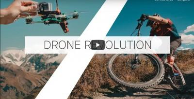 La revolución de los Drones en el MTB