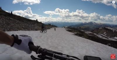 Nate Hills - Montando con nieve   Mount Joss, Revelstoke
