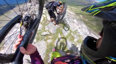 Alexis Righetti - Atrapados en los Pirineos - MTB