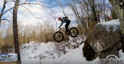 Si tu Bike Park favorito tiene nieve cógete la Fat Bike