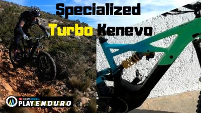 Disfrutando de la eBike Specialized Turbo Kenevo Expert