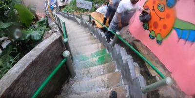 DH Urbano Descida das Escadas de Santos 2019